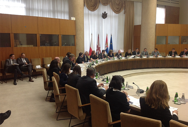 Closing Ceremony of the EU Twinning Project – Modern Concept of Human Resources Management of the Interior of the Republic of Serbia
