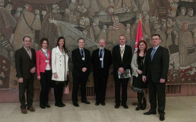 Mission at the Ministry of the Interior of the Republic of Serbia